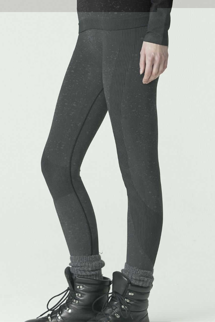 Ardmore Thermal Legging- Black Snow Spray