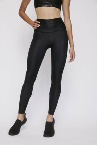 High Waist Legging - Black Viper