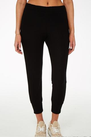 Eleani Cozy Pant - Black