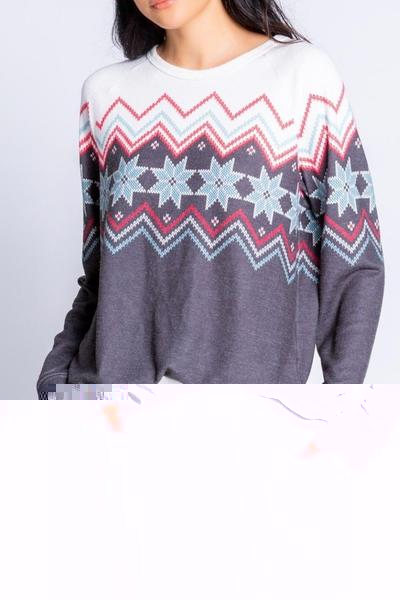 Long Sleeve Top Fair Isle