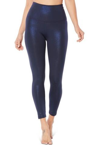 Twinkle High Waist Midi Legging - Nocturnal Navy