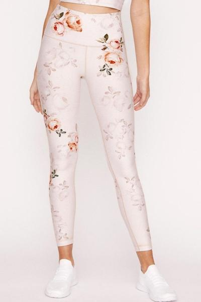 High Waist Legging - Stone Delight Floral