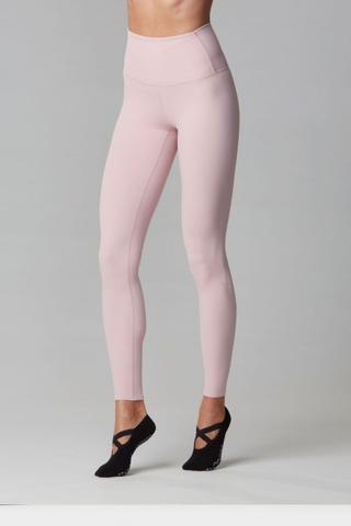 High Waist Legging- Bashful